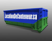 LOCATION CONTENEURS / BOITE A REBUTS/CONTAINERS / BIN / DUMPTER