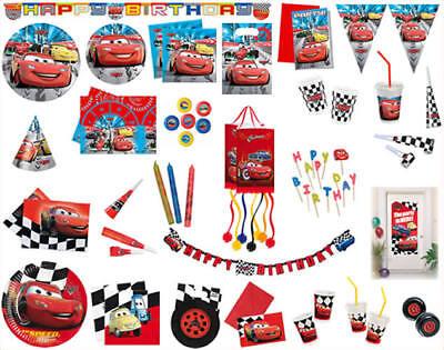 Kindergeburtstag Geburtstag Party Fete Moto Cars Racers Red ()