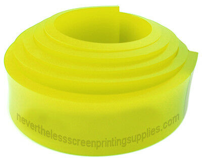 6ft - 72 Silk Screen Printing Squeegee Blade - 70 Duro - Polyurethane Rubber