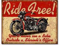 BSA Vintage Britisch Oldtimer Motorrad Bike Nostalgie Repro-Schild Poster 1507
