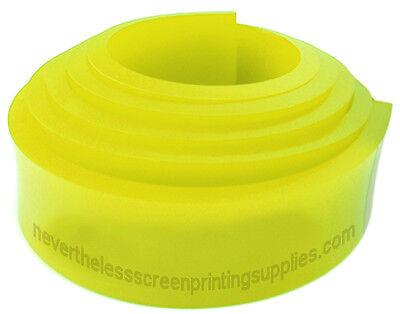 12ft - 144 Silk Screen Printing Squeegee Blade - 70 Duro - Polyurethane Rubber