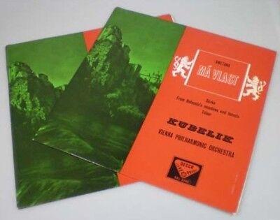 Rafael Kubelik : Smetana - Ma Vlast  SXL 2064/5 (2LP) WBg ED1 MINT