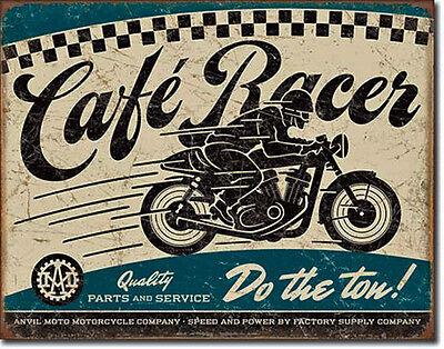 Oldtimer Motorrad Blechschild 50er Werbung Poster Garage Deko Werkstatt *199