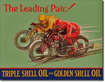 * Historisches Motorradrennen Motorcycle Race Schild Poster Oldtimer Bike * 114