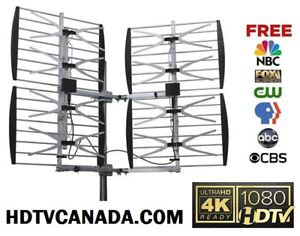 OTA Over The Air HDTV HD Antenna Service ► Installation ► Aiming