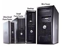 Dell OptiPlex 760 PC Desktop Tower Core 2 Duo 2.4GHz-3.0GHz 4GB 160GB HDD Gaming job lot of PC Unit