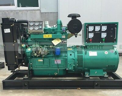 Eco Brand New 50000w 50kw 60hz Diesel Powered Generator Free Ship To Worldwide