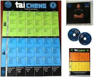 Tai Cheng Master DVD's with Calendar Beachbody New Sealed