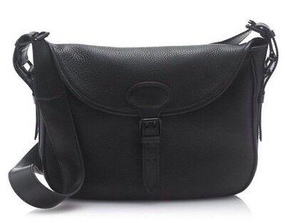 Retail $228 J CREW ~ LEATHER CANYON HOBO Cross-Body Shoulder Bag #B3932 ~ BLACK