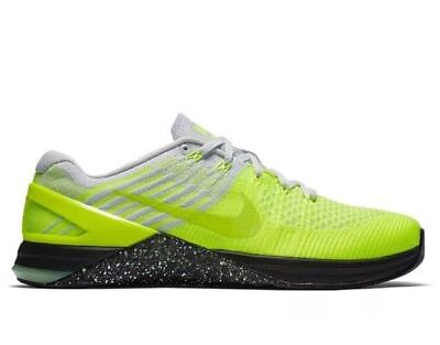 Mens Nike Metcon DSX Flyknit Sz 10 Volt/Ghost Green 852930-701 FREE SHIPPING NEW