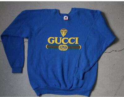 vintage bootleg gucci sweatshirt