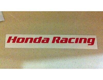 CBR Honda Racing TT Fireblade BSB 100mm Sticker Decal All colours