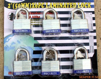6 Security Lock Set W Same Matching Keys Locks Boat Door Tool Set Gate Storage