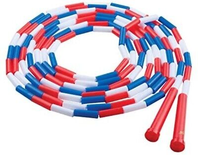 Champion Sports Segmented Jump Rope for Fitness - Classic Beaded Jump Ropes for