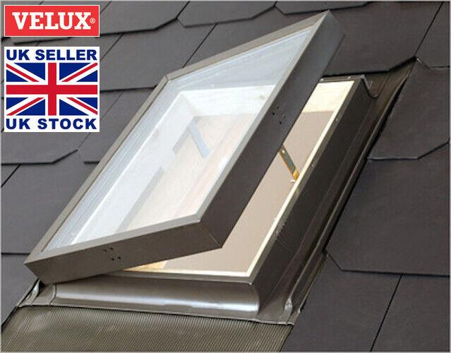Détails Sur Velux Vlt Conservation Accès Loft Fenêtre De Toit 45x55 Cm Skylight Clignotant Kit Afficher Le Titre Dorigine