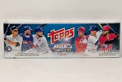 2018 Topps Baseball Complete Set Factory Sealed