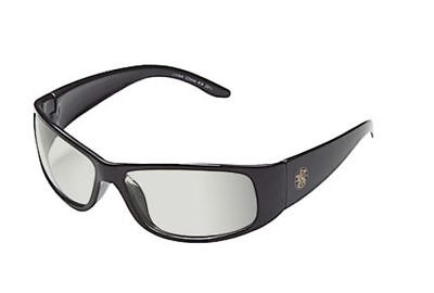 Smith & Wesson Elite Safety Glasses with Black Frame and Indoor/Outdoor Lens - Glass Outdoor Frame