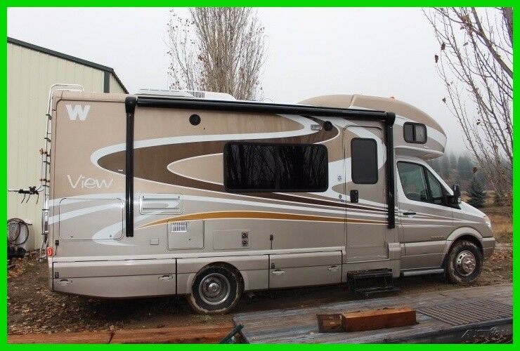 2010 Winnebago View 24K Class C Diesel RV Motorhome,24-ft, 1