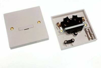 *Batch Of 5 Fused Spur Connection Unit Unswitched ()