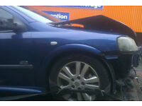 Vauxhall Astra O/S Front Wing In Blue (2003)