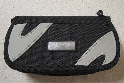 Psp Umd Carrying Case - On The Go Travel Carry Nylon Case For PSP Black Grey Gray UMD Multi-Color 9E