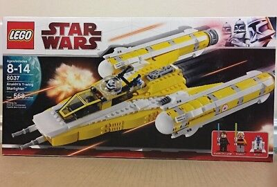 Lego Star Wars 8037 Anakin S Y Wing Starfighter