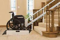 Wheel chair lift - Professional installation