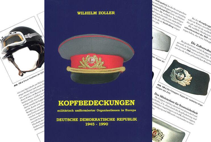 Zoller Kopfbedeckungen Militärisch Uniformiert DDR 1945 1990 NVA Schutzpolizei