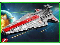 Lepin 6125Pcs Star Wars UCS Republic Venator MOC Consruction set