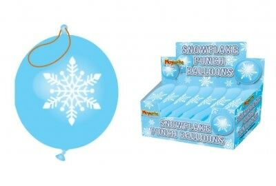 Snowflake Punch Balloons Party Loot Bag Stocking Fillers (Snowflake Punch)