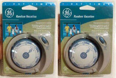GE 50462 7-Day Random Vacation Timer