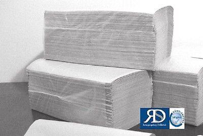 1.000 Blatt Papierhandtücher Handtuchpapier natur  25x23cm Z-Falz Papierhandtuch
