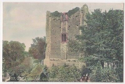 The Keep, Castle Grounds Guildford, Deane Postcard, B597