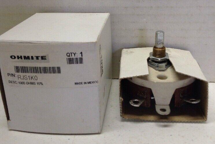 Ohmite RJS1K0 Ceramic Rheostat Potentiometer