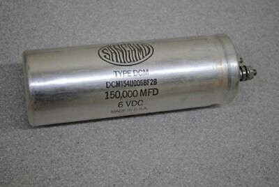 150000uf 6v Sangamo Computer Grade Capacitor Type Dcm Dcm154u006bf2b 150k Uf