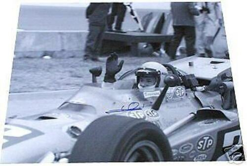 MARIO ANDRETTI  AUTOGRAPHED 1969 WINNER  INDY 500 16 X 20 PHOTO