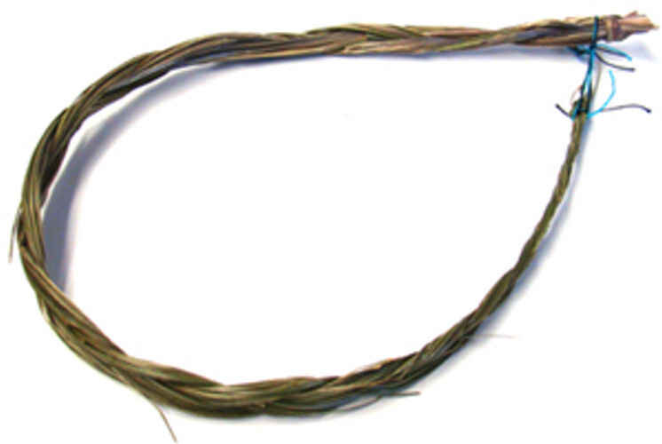 """24"""" Sweetgrass Braid Smudge Bundle Cleansing. smudging, herb, Wicca, Native"""