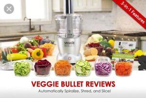Magic Bullet - Veggie Bullet * brand new