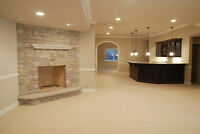 basement contractor and renovation