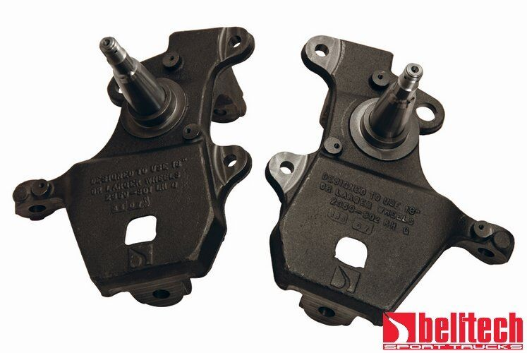 57 Ford Drop Spindles : Belltech ford f expedition navigator