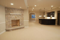 Basement renovation. PAYMENT PLAN AVAILABLE!
