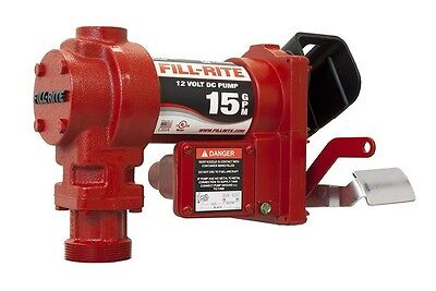 Tuthill Fill Rite Fr1204g Replacement Cast Iron 12v Dc Fuel Transfer Pump 15 Gpm