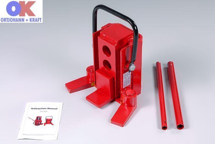 Hydraulischer Maschinenheber TG 30 3 to 3000 kg Wagenheber Maschine Heber