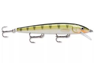 RAPALA HJ-14 Yellow Perch HUSKY JERK Rattling Suspending Fishing Lure HJ14-YP