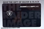 Raiders Gift Card