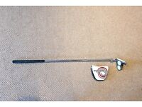 Odyssey 2 ball Putter complete with headcover