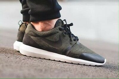 buy online b5987 4be39 Nike Roshe One NM TP 12 Olive Green Tech Fleece Pack Black White Run 749658 -301