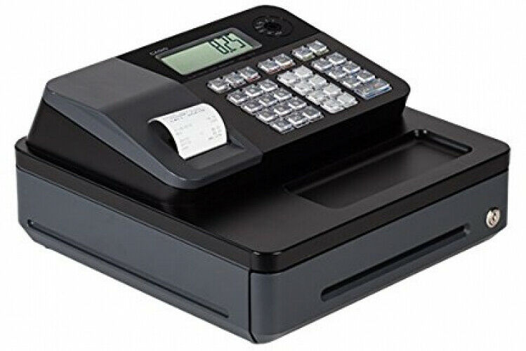 Programmable Lockable Electronic Cash Register High Speed Tax Function Display