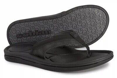 COBIAN MENS SANDALS BOLSTER ARCHY BLACK SZ 9 Flip Flops New Free Shipping Cobian Mens Sandals