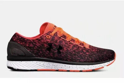 New UNDER ARMOUR UA CHARGED 3 RUNNING SHOES 3020119-600 ORANGE Size 11.5